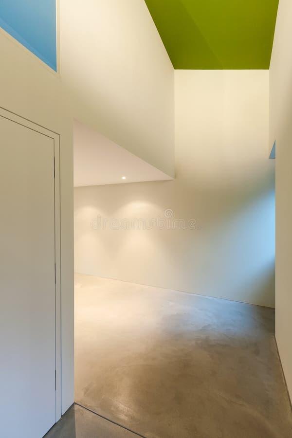 Intérieur moderne de maison images libres de droits