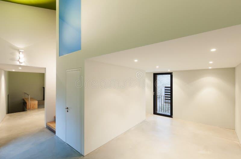 Intérieur moderne de maison image stock
