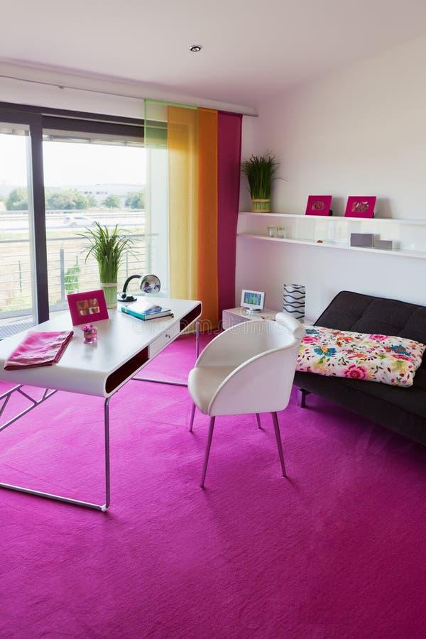 Intérieur moderne du Home Office  photographie stock