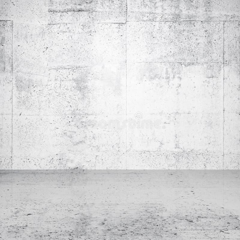 Intérieur vide blanc abstrait images stock