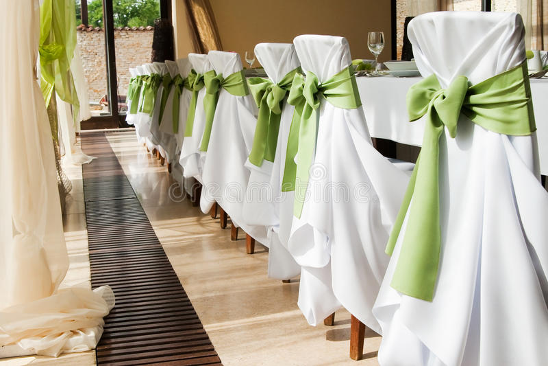 Intérieur Wedding II. image stock