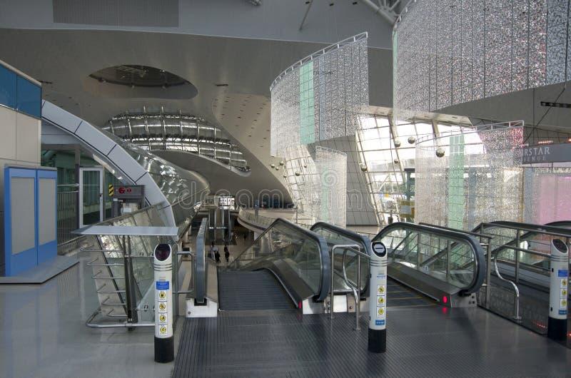 Intérieurs d'aéroport d'Incheon photo libre de droits