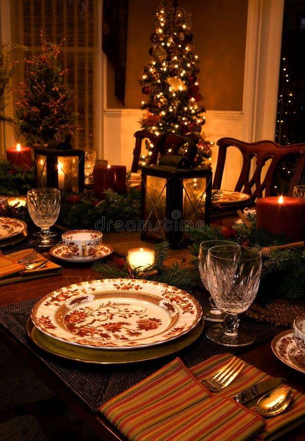 Intérieurs de Noël photo libre de droits