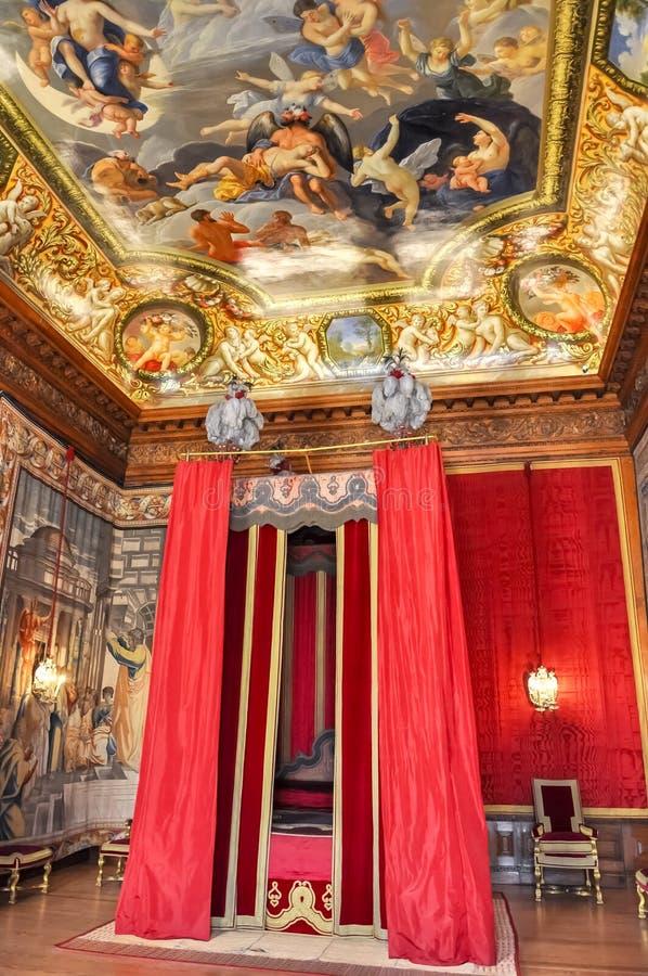 Intérieurs de palais de Hampton Court, Londres, R-U photo stock
