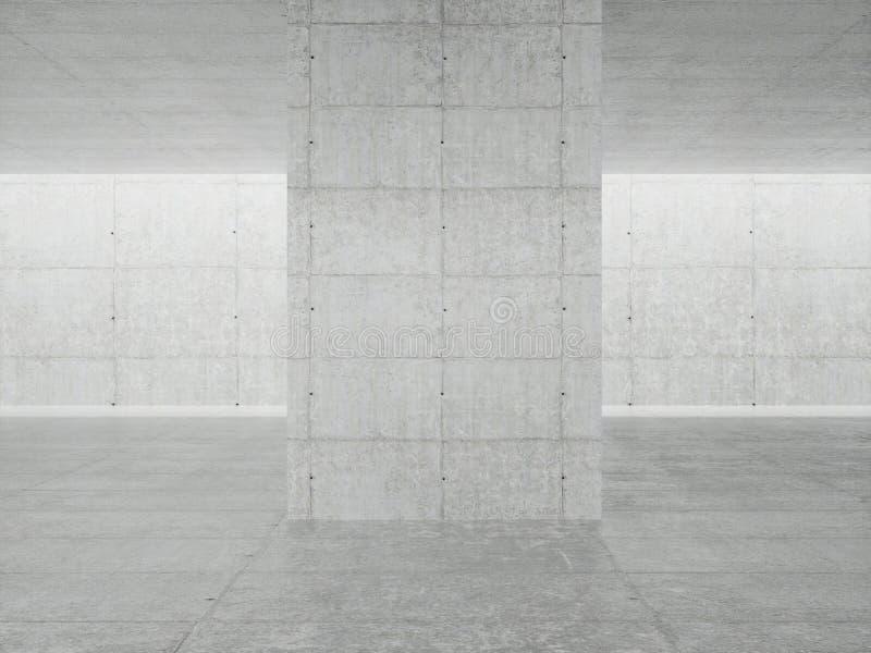 Int?rieur abstrait d'architecture illustration de vecteur