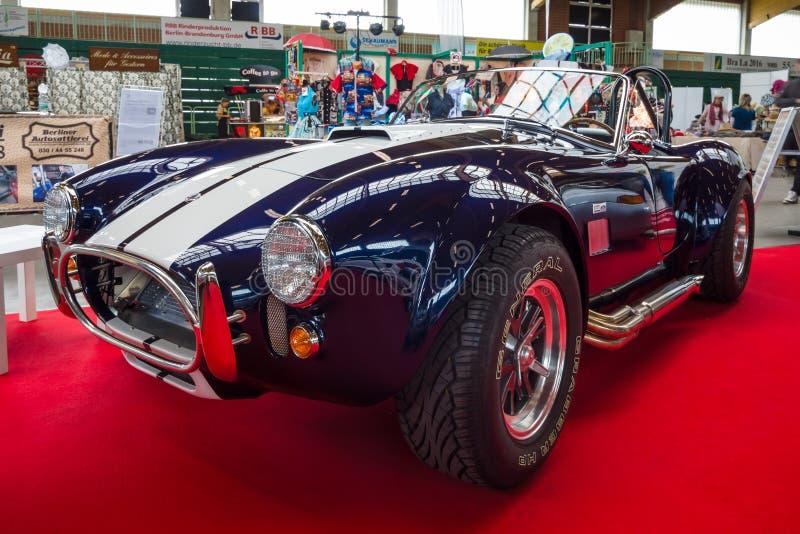 Intage Ford, Shelby samochodowego/AC kobra fotografia stock