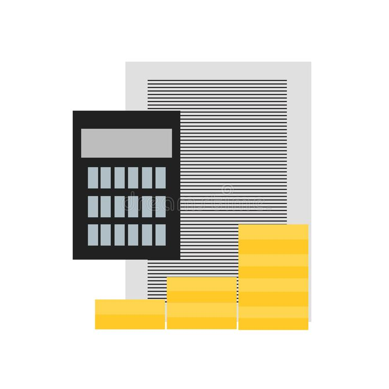 Inteckna det symbolsvektortecknet och symbolet som isoleras på vit backgroun vektor illustrationer
