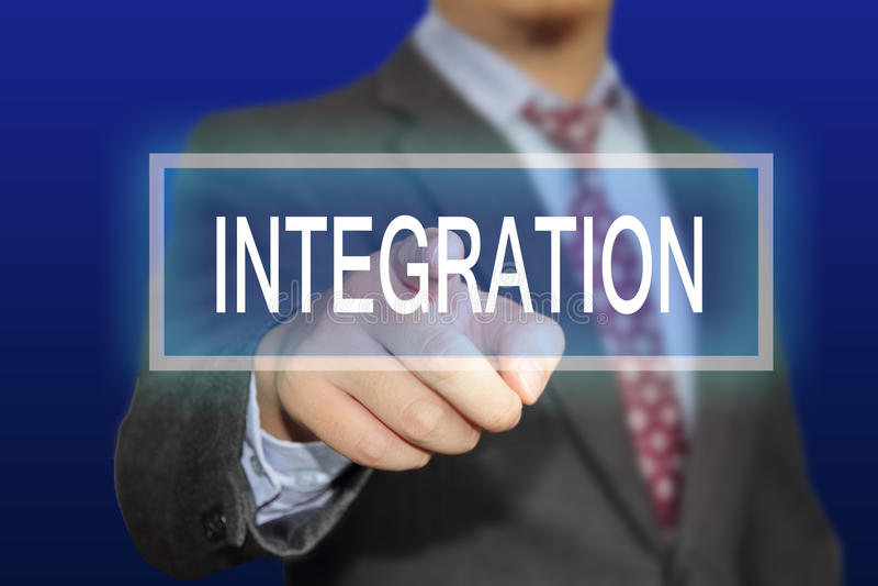 integração fotos de stock