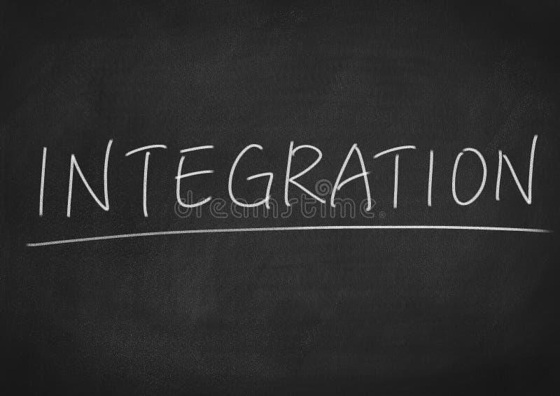 integração imagem de stock