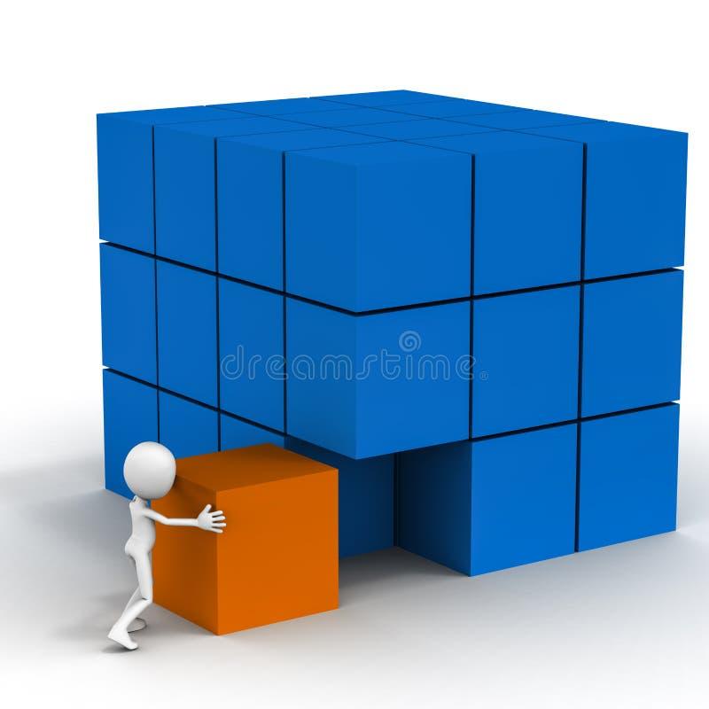 Integração do negócio ilustração stock