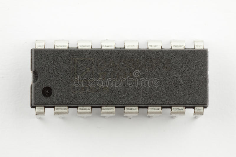 Download Integrated circuit stock photo. Image of black, mounted - 14115142