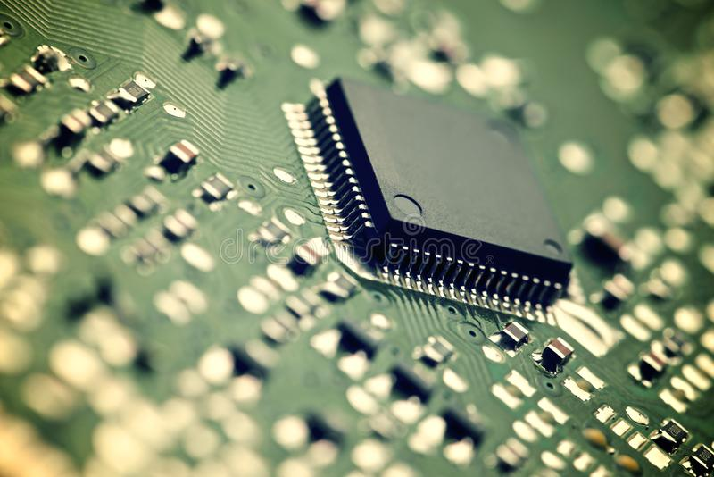Download Integrated Circuit stock image. Image of computing, digital - 39339649