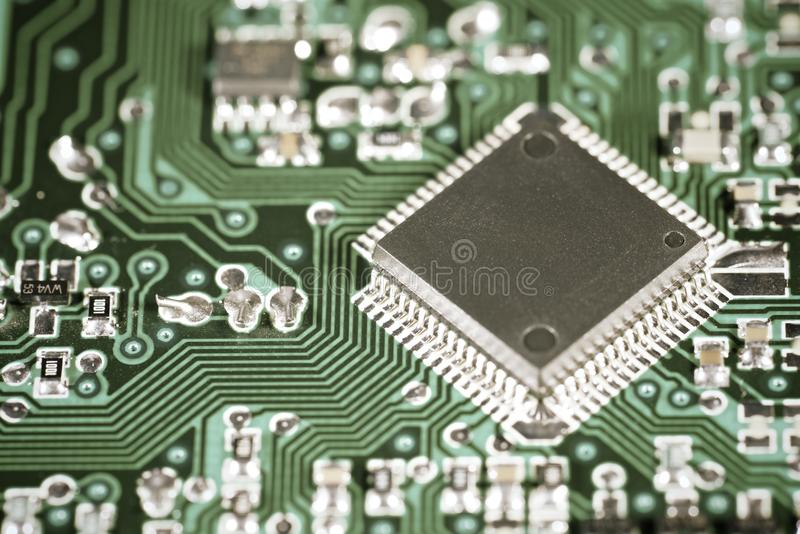 Download Integrated Circuit stock image. Image of chipset, communication - 39847717