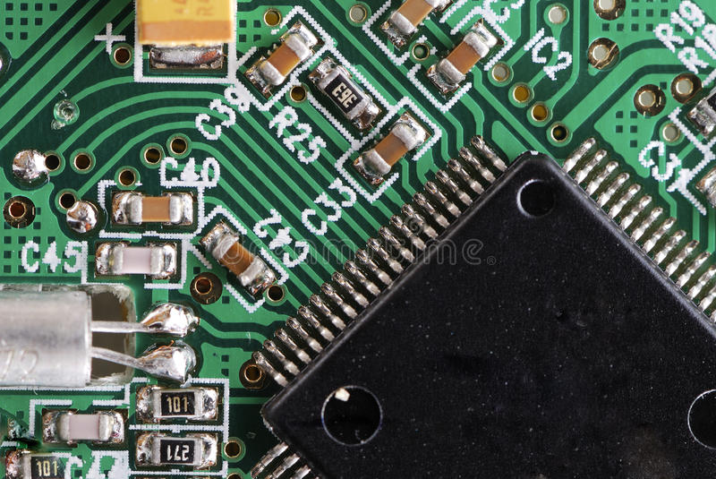 Integrated Circuit Technology royalty free stock images