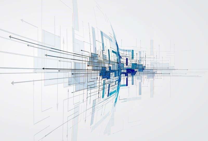 Integratie en innivationtechnologie Beste ideeën voor Zaken p vector illustratie