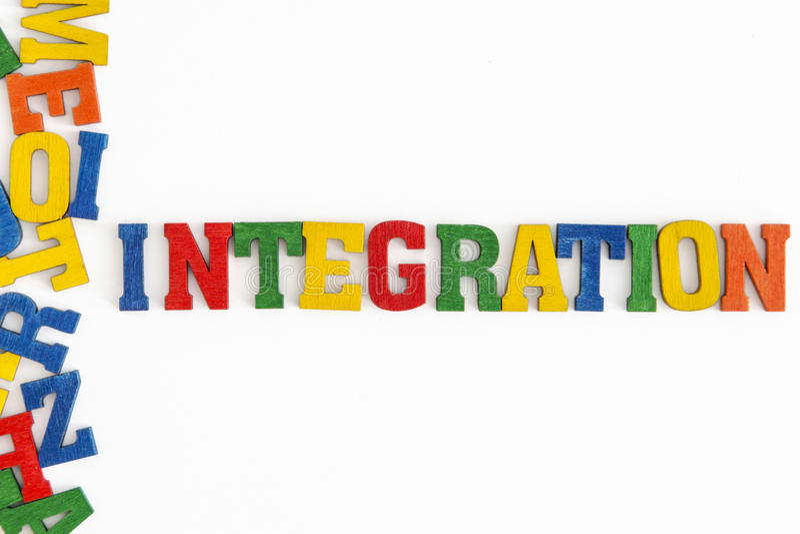 integration arkivfoto