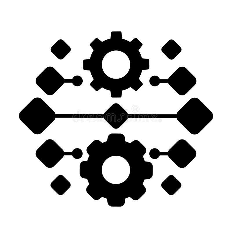Free Integration Vector Icon. Automation Concept Illustration Sign. Software Symbol. Stock Images - 192438494