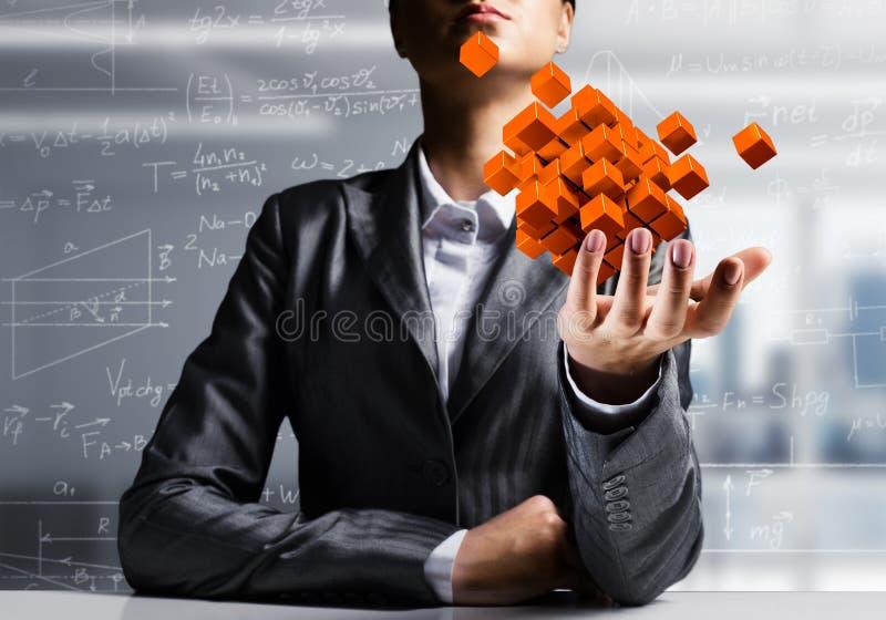 Integration von neuen Technologien stockfotos