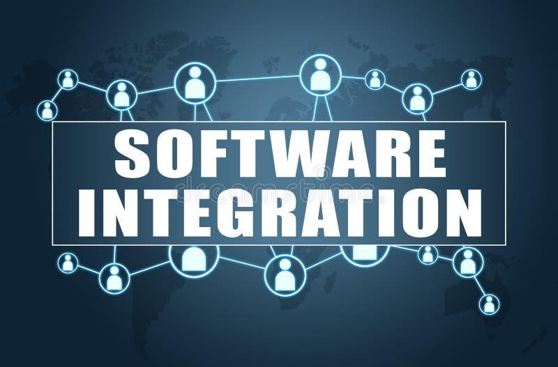 Integrazione di software illustrazione vettoriale