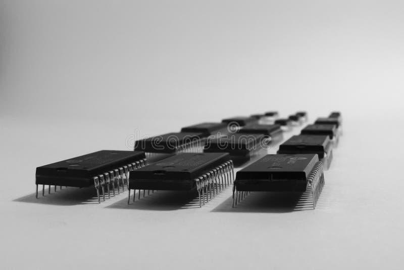 integrerad strömkrets fotografering för bildbyråer