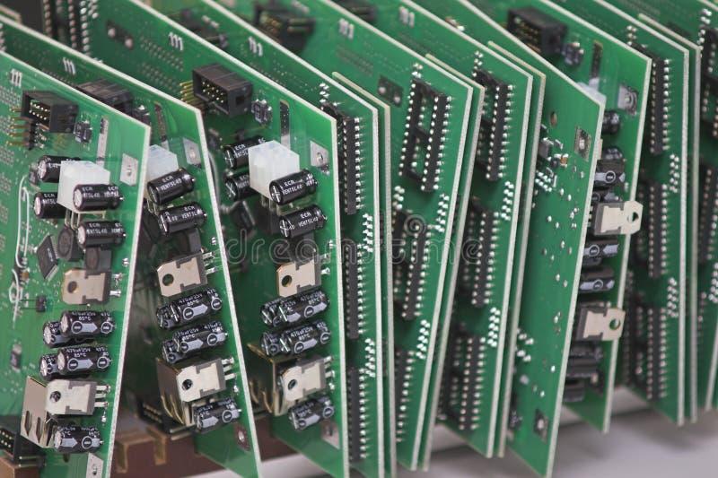 integrerade strömkretsar arkivfoton
