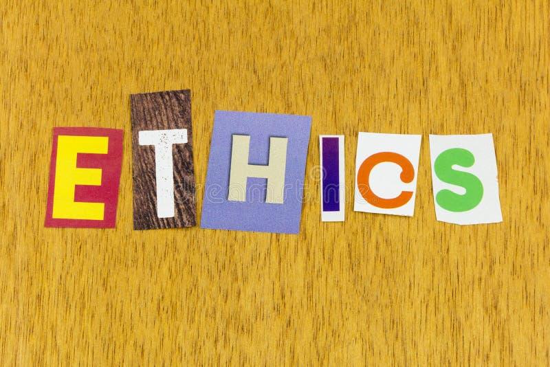 Integridad ética honestidad confianza capacidad de liderazgo imagenes de archivo