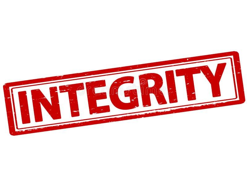 integridad stock de ilustración