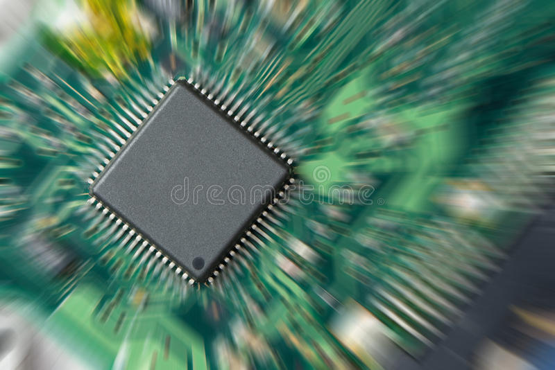 Integrierte Schaltung lizenzfreies stockfoto