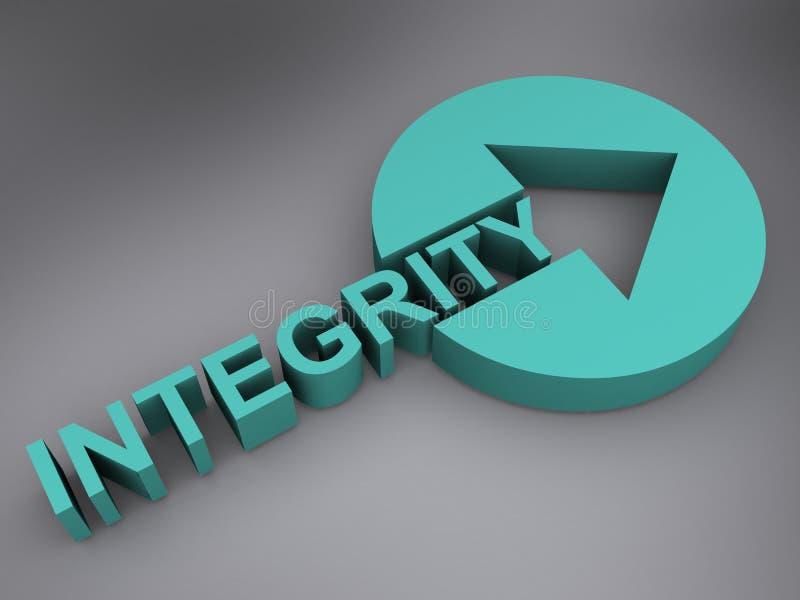Integritätszeichen lizenzfreies stockbild