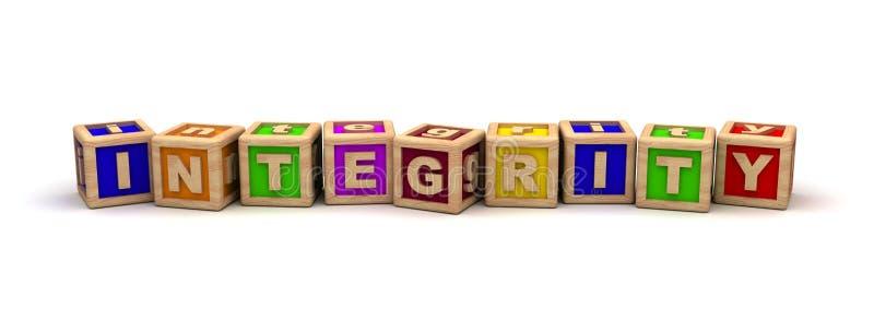 Integriteit vector illustratie