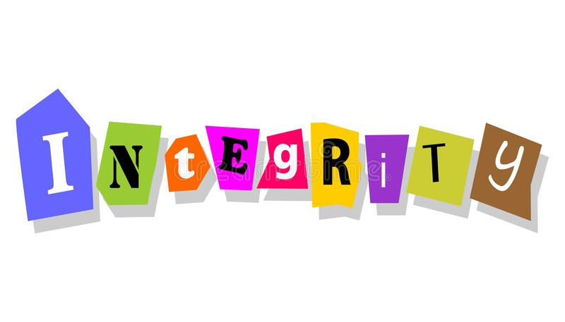 Integrity Or Ethics Concept Royalty Free Stock Photos