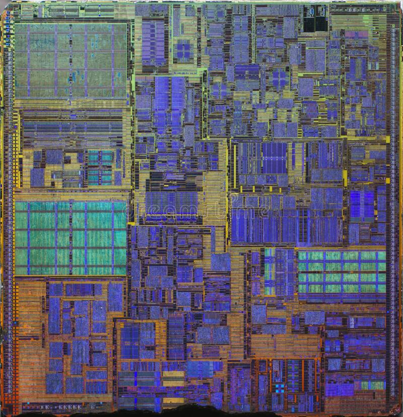 Intel@130nm @ NetBurst@Northwood @ Pentium4@SL6PF___DSC07596 lizenzfreies stockfoto