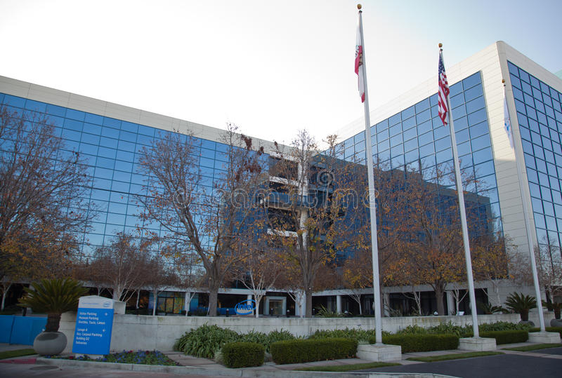 Intel Corporation lizenzfreies stockbild