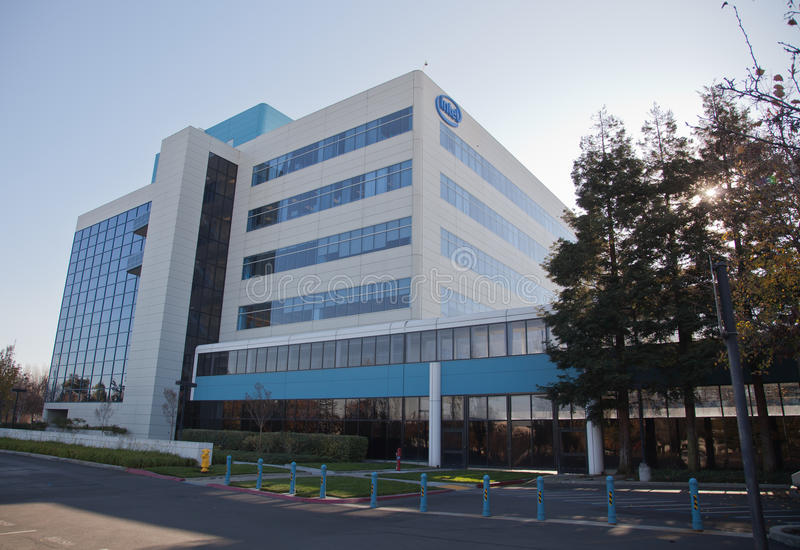 Intel Corporation lizenzfreies stockfoto