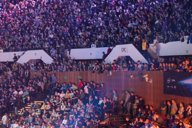 Intel Extreme Masters 2014 royalty free stock photos