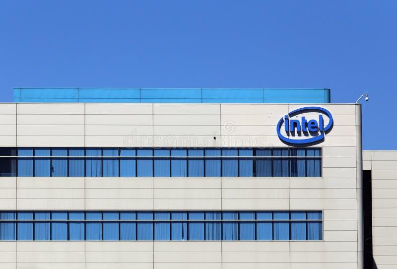 Intel-Welthauptsitze lizenzfreie stockfotografie
