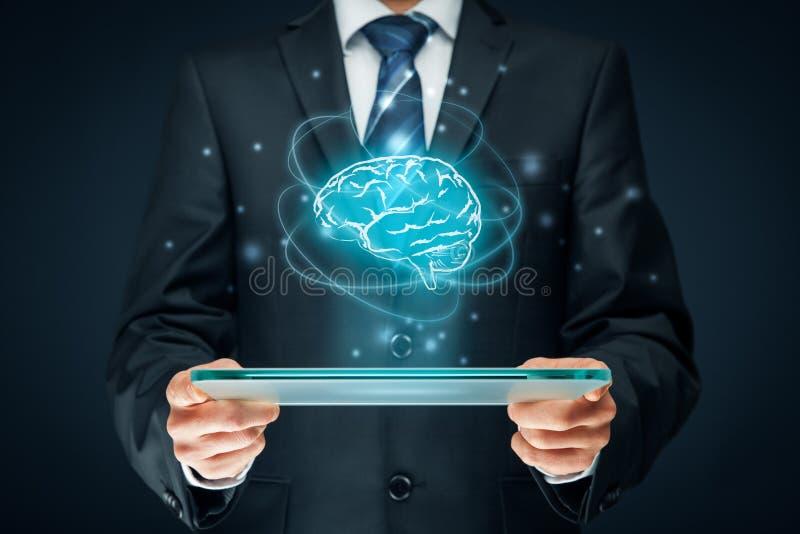 Inteligência artificial imagem de stock