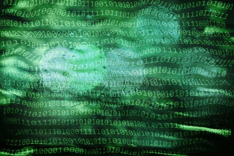 Inteligência artificial abstrata imagem de stock