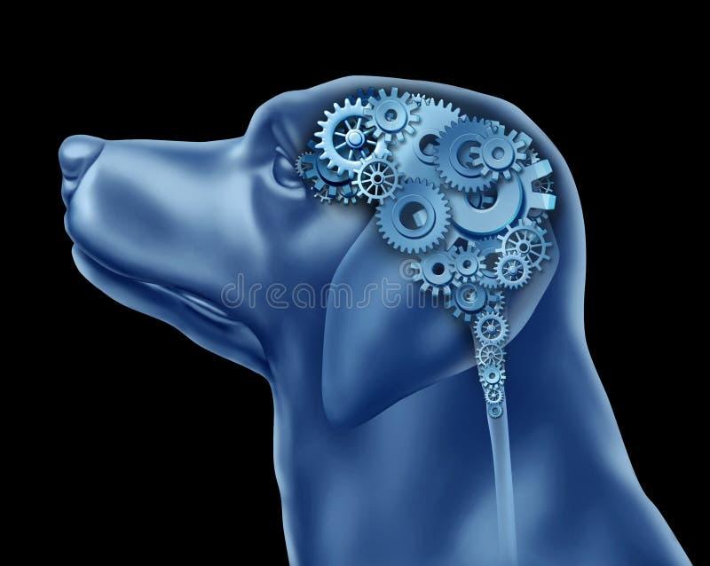 Inteligência do cão ilustração do vetor