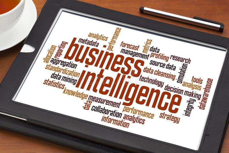 Inteligência empresarial imagens de stock