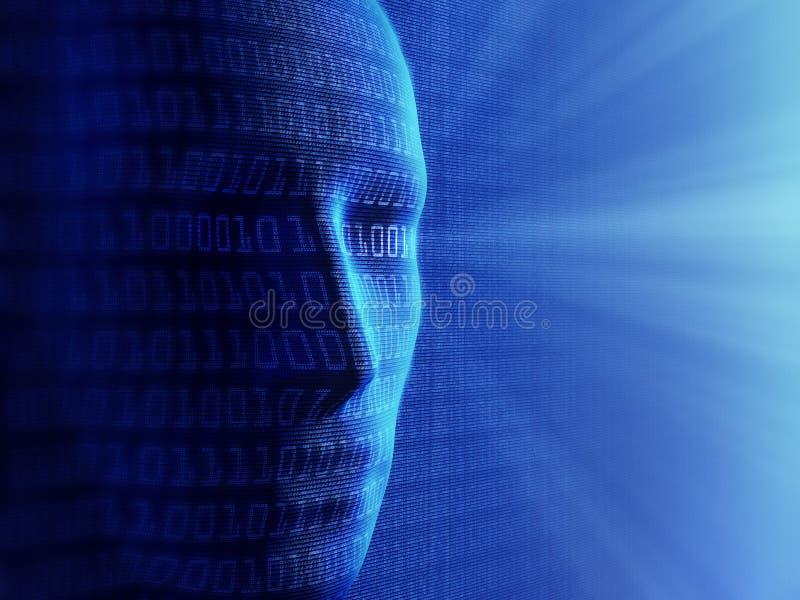 Inteligencia artificial fotografía de archivo