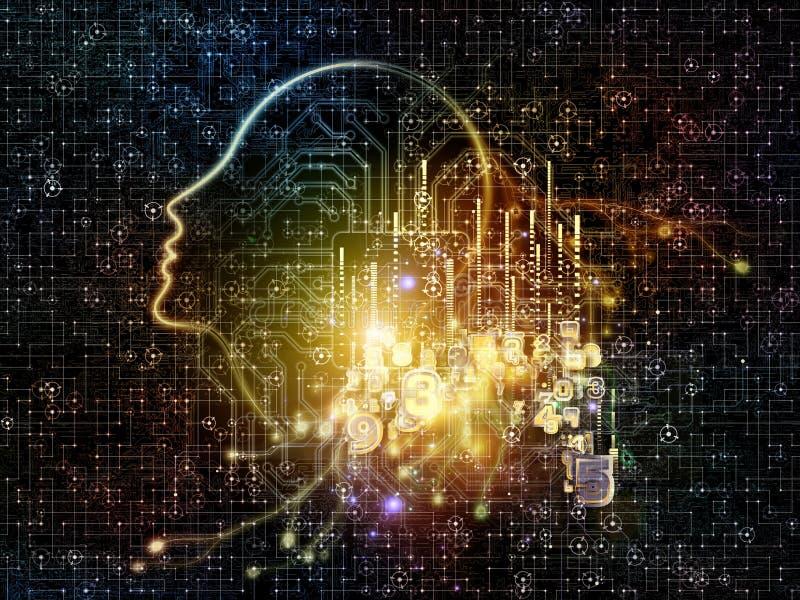 Inteligencia artificial foto de archivo libre de regalías