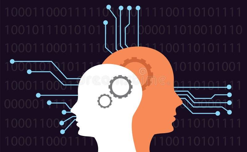 Inteligencia artificial libre illustration