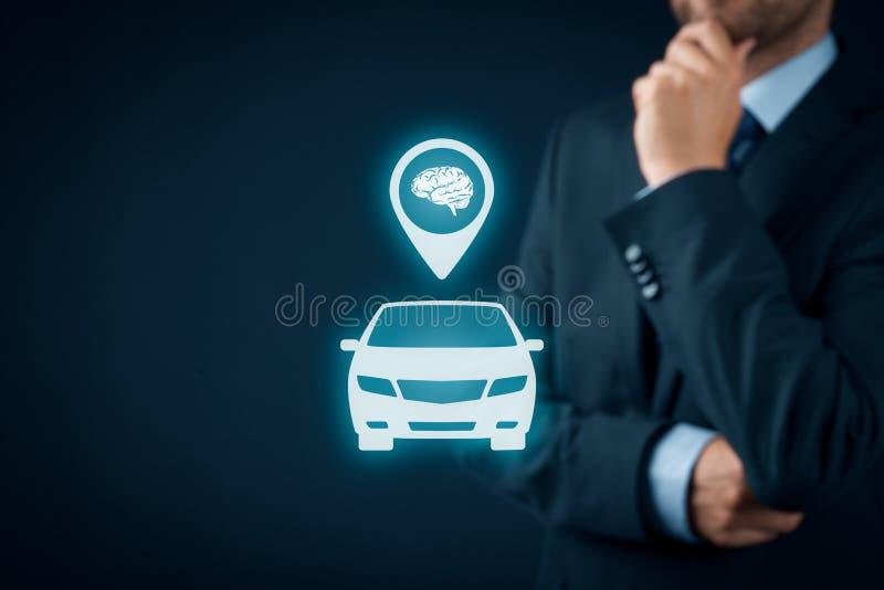 Inteligentny samochód fotografia royalty free