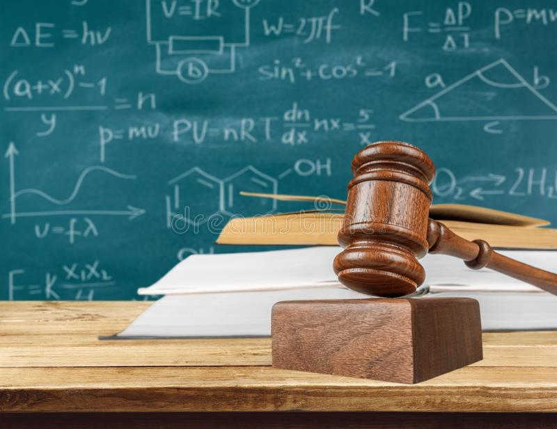 Intellectual Property. Law atudy education Legal System Justice Gavel stock photos