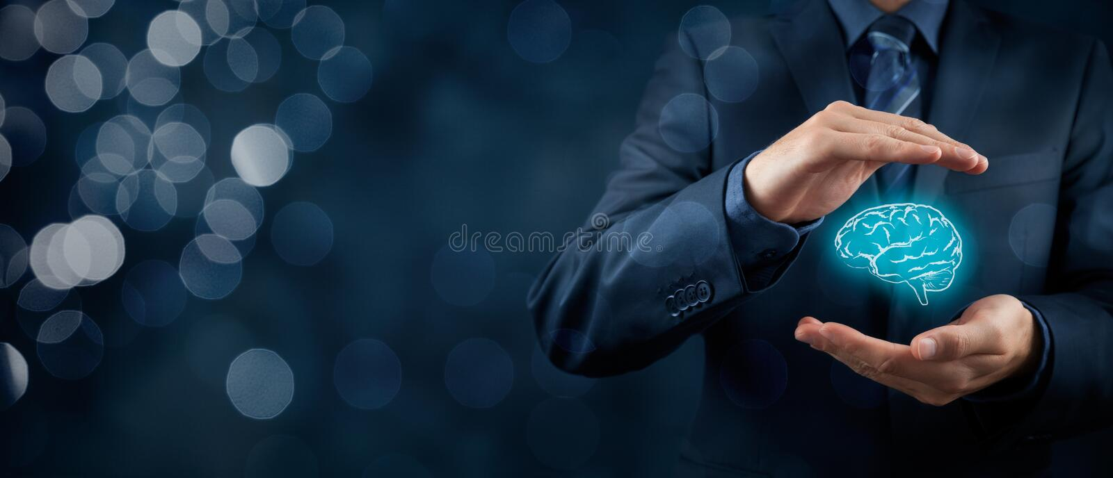 Intellectual property protection stock image