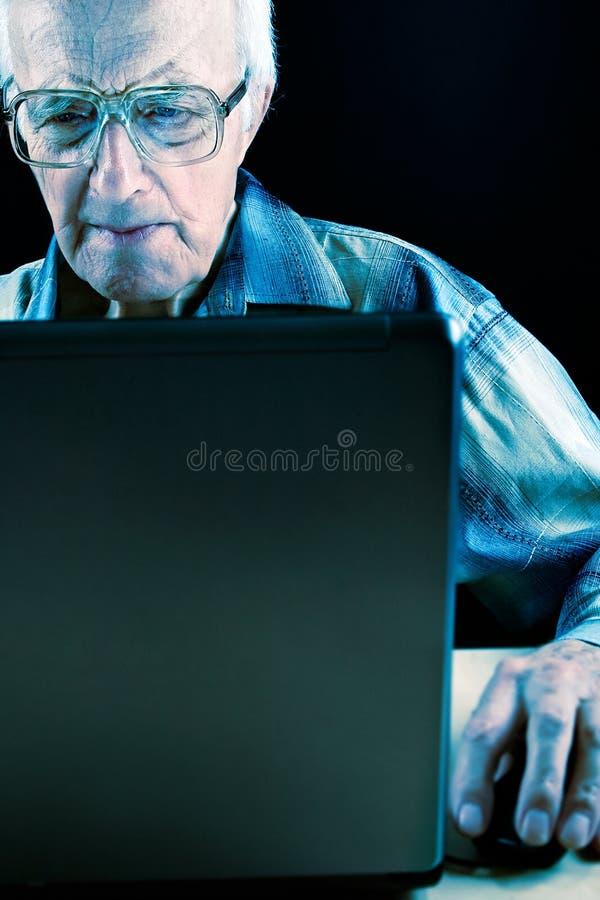 Intellectual Senior Man Free Stock Images