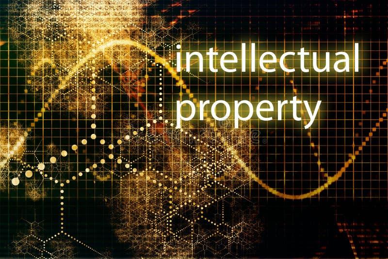 Intellectuele eigendom royalty-vrije illustratie