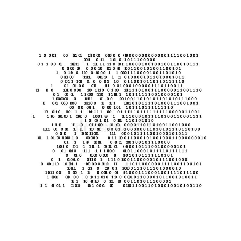 Intelligence artificielle et apprentissage automatique illustration de vecteur