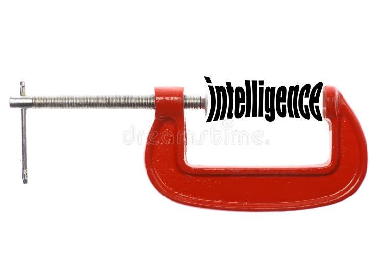 Intelligence de compresse photographie stock